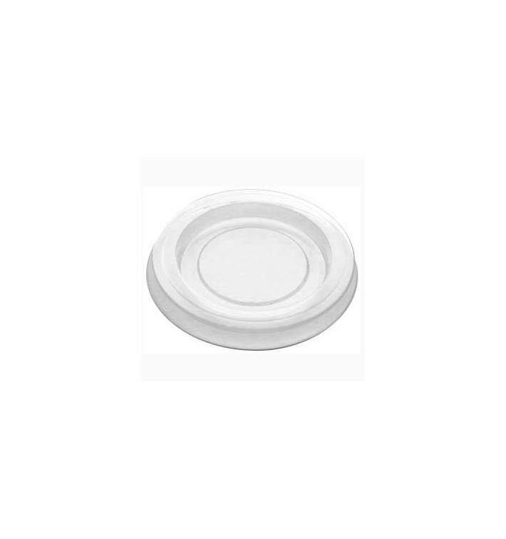 Couvercle pour Pot à Sauce PLA Transparent 30ml (200 Utés)