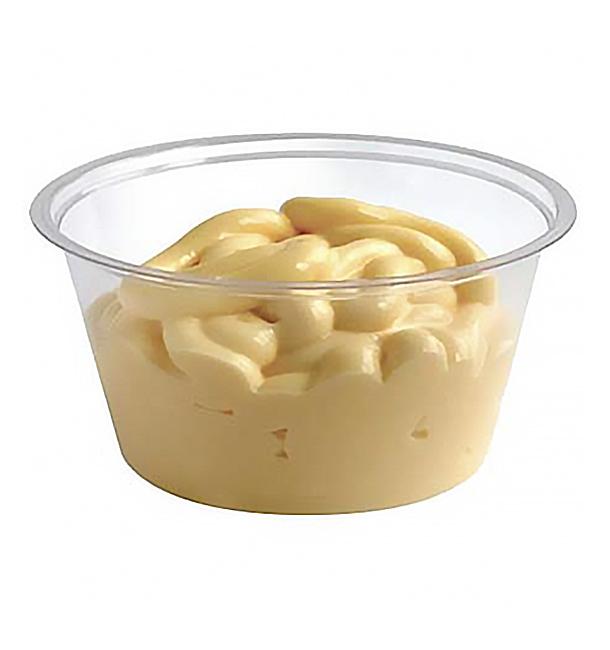 Pot à Sauce PLA Transparent 88ml (100 Utés)