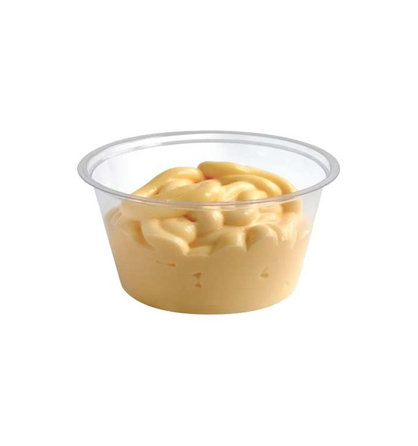 Pot à Sauce PLA Transparent 88ml (2000 Utés)