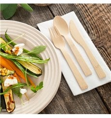 Fourchette en Bambou 17cm (1000 Unités)