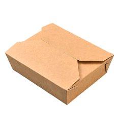 Boîte Américaine Moyen Kraft 15x12x6,5cm (200 Utés)