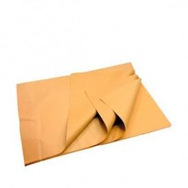 Papier Mousseline Marron de 60x86cm 22g (2400 Utés)