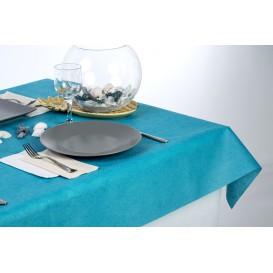 Nappe en Non-Tissé PLUS Turquoise 120x120cm (100 Utés)