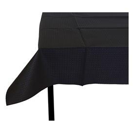 Nappe en papier 120x120 Noire 40g (300 Unités)