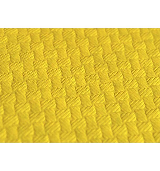 Nappe en papier 1,2x1,2 Mètre Jaune 40g (300 Unités)