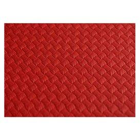 Nappe en papier 1,2x1,2 Mètre Rouge 40g (300 Unités)