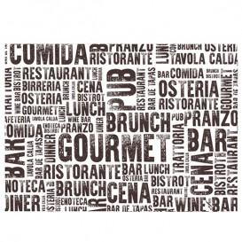 """Set de Table papier 30x40cm """"Gourmet"""" 40g (1.000 Utés)"""