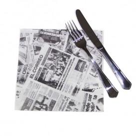"""Serviette Papier """"Presse"""" 40x40cm (50 Unités)"""