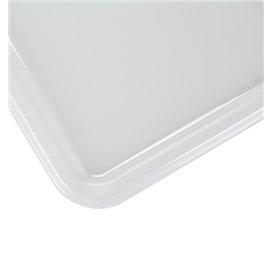 Plateau Plastique RPET Transparent 35x24cm (50 Utés)