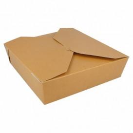 Boîte Carton Américaine Naturel 21,7x21,7x6cm 2910ml (140 Utés)