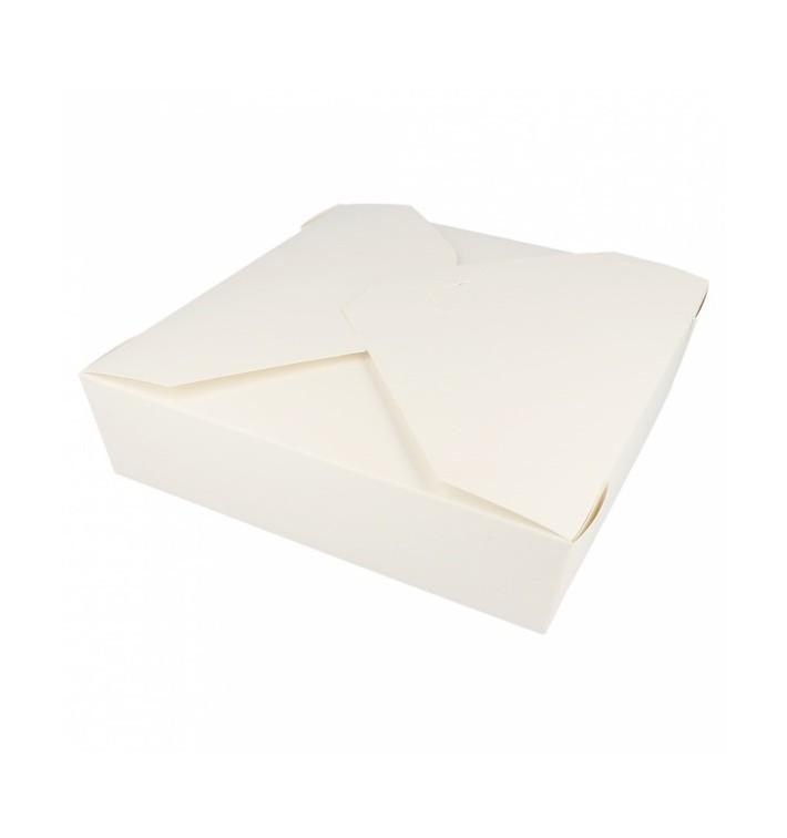 Boîte Carton Américaine Blanc 21,7x21,7x6cm 2910ml (35 Utés)