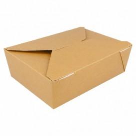 Boîte Carton Américaine Naturel 19,7x14x6,4cm 1980ml (200 Utés)