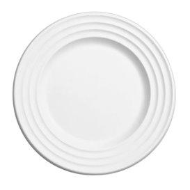 Assiette Canne à Sucre Premium Wave Blanc Ø26cm (50 Unités)