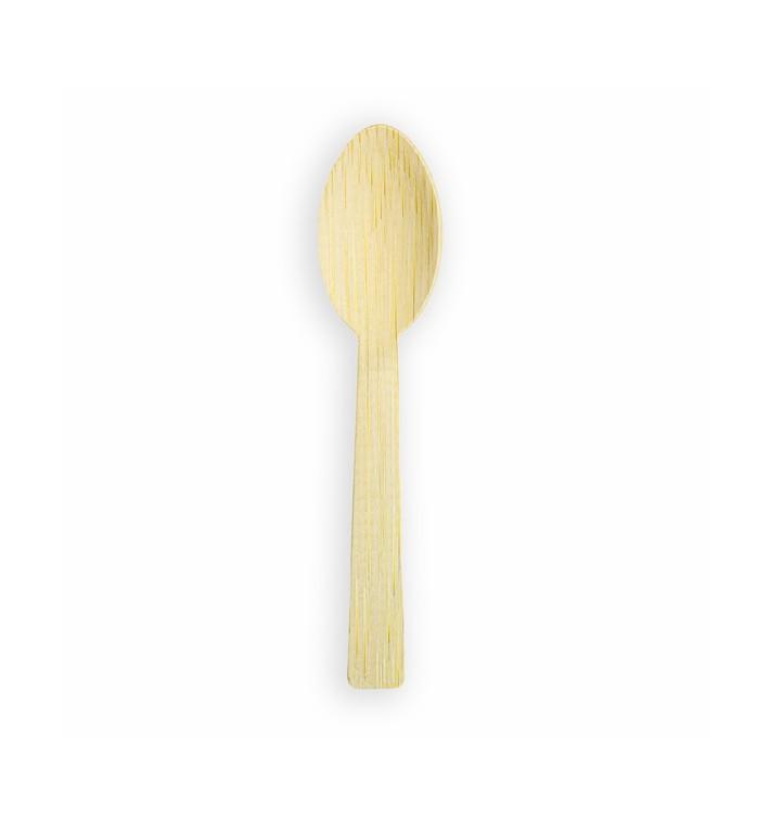 Cuillère en Bambou 17cm (50 Unités)