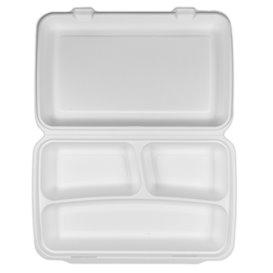 Boîte en Canne à Sucre 3C 380x483x61,5mm (50 Utés)