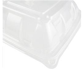 Couvercle en Plastique PP Dôme Barquette 230x230mm (300Utés)