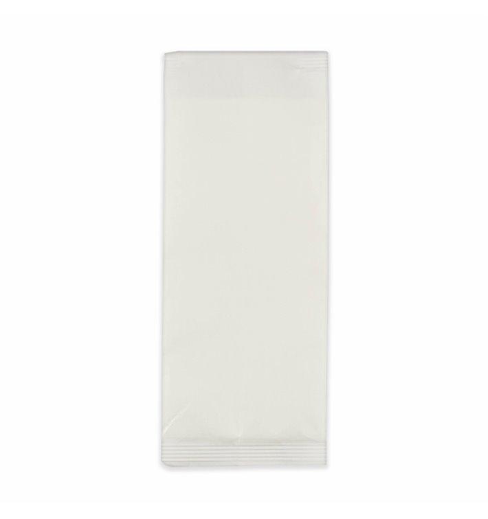 Enveloppe Porte-Couverts avec Serviettes Blanc (125 Utés)