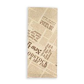 """Enveloppe Porte-Couverts avec Serviettes """"New York Times"""" (1000 Utés)"""