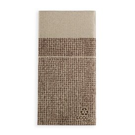 Serviette Kangourou en Papier Jute 40x40cm (30 Unités)