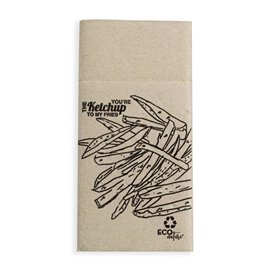 Serviette Kangourou en Papier Burguer 40x40 (960 Unités)