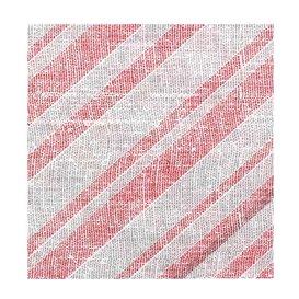 """Serviette Papier molletonnée """"Barlovento"""" Rouge 40x40cm (50 Utés)"""