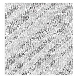 """Serviette Papier molletonnée """"Barlovento"""" Noir 40x40cm (600 Utés)"""