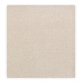 """Serviette Papier molletonnée """"Cow Boys Crème"""" 40x40cm (50 Utés)"""