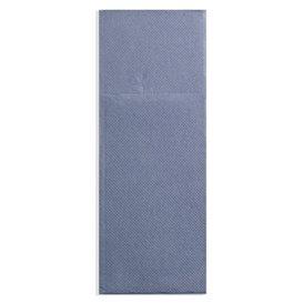 Serviette Kangourou en Papier Cow Boys Bleu 30x40cm (1200 Unités)