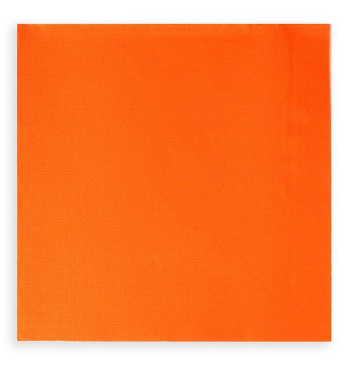 Serviette Papier à Cocktail 20x20 Orange (6.000 Unités)