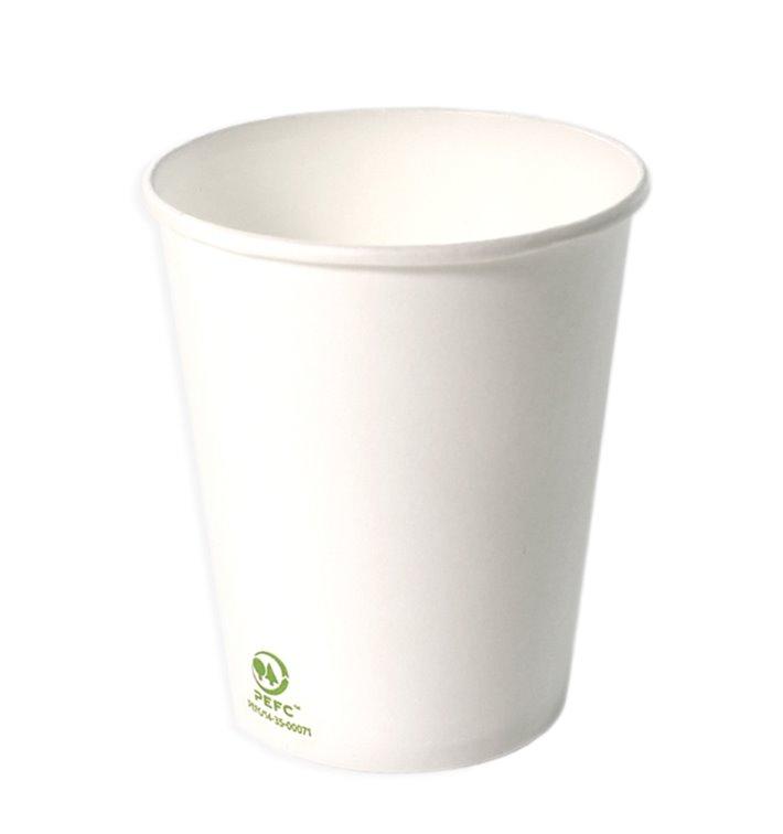 Gobelet Carton Blanc 6Oz/180ml Ø7,0cm (3.000 Unités)