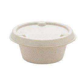 Pot en Canne à Sucre Naturel Ø6,0cm 60ml (100 Utés)