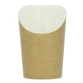 Gobelet Carton Ingraissable Effet Kraft Moyen (55 Unités)