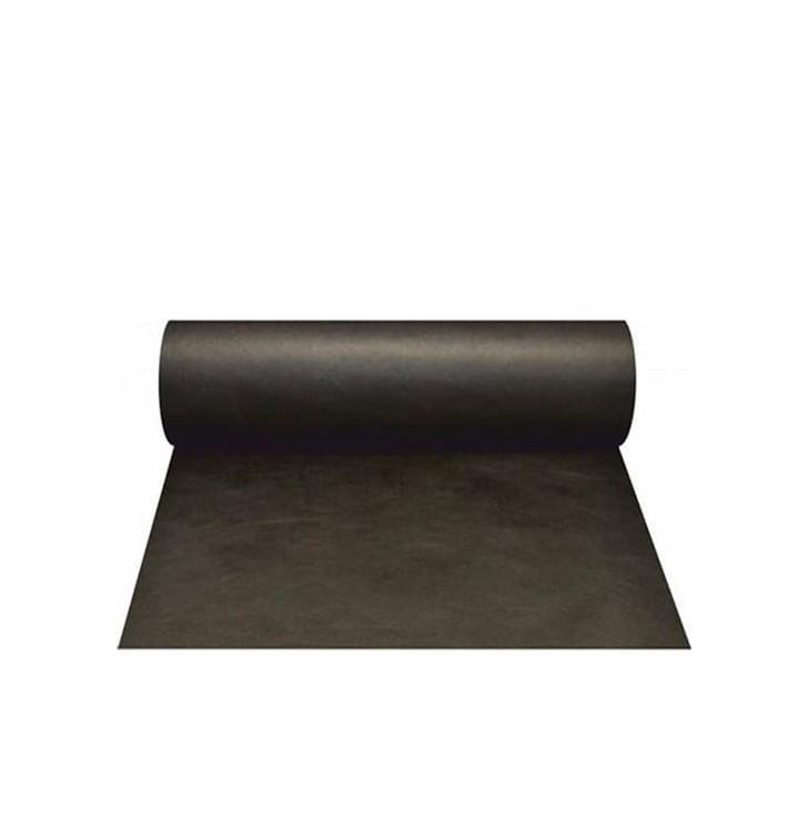 Chemin de Table PP Non Tissé 40x100cm Noir 50g (500 Utés)