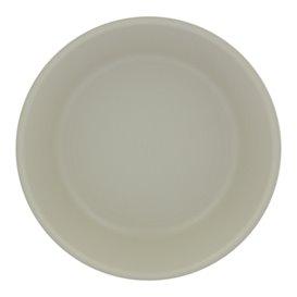 Assiette Réutilisable Premium PP Minéral Gris Ø18cm (54 Utés)