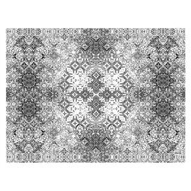 """Set de Table papier 30x40cm """"Mosaïque"""" Noir 40g/m² (1000 Utés)"""