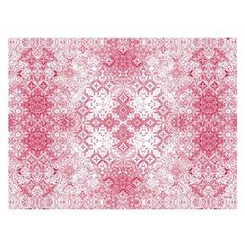 """Set de Table papier 30x40cm """"Mosaïque"""" Bordeaux 40g/m² (1000 Utés)"""