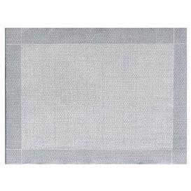 """Set de Table papier 30x40cm """"Entre Lignes"""" Gris 40g/m² (1000 Utés)"""