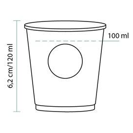 "Gobelet Carton ""Specialty to go"" 4oz/120ml Ø6,2cm (80 Utés)"