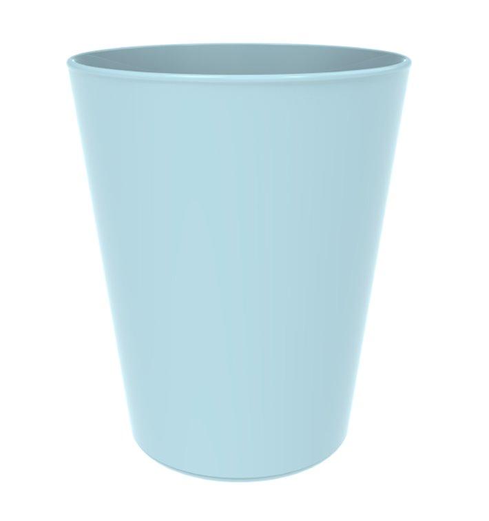 Gobelet Réutilisable Durable PP Minéral Bleu 330ml (72 Utés)