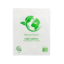 Sac Plastique 100% Compostable 16x24cm (5000 Utés)