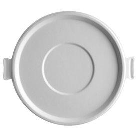 Couvercle de Canne à Sucre Blanc pour Bol 710 et 1360ml (400 Utés)