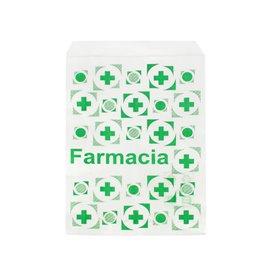 Sac Papier Blanc Pharmacie 14x20cm (250 Utés)