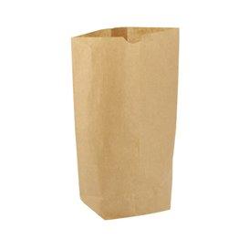 Sac en Papier avec Fond Hexagonal Kraft 23x35cm (50 Utés)