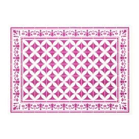"""Set de Table papier 30x40cm """"Alhambra"""" Aubergine 50g/m² (1000 Utés)"""