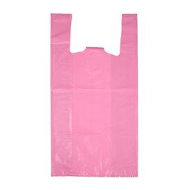 """Sac à Bretelles 70% Recyclé """"Colors"""" Rose 42x53cm 50µm (40 Utés)"""