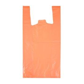 """Sac à Bretelles 70% Recyclé """"Colors"""" Orange 42x53cm 50µm (40 Utés)"""