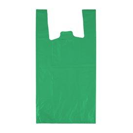 """Sac à Bretelles 70% Recyclé """"Colors"""" Vert 42x53cm 50µm (50 Utés)"""