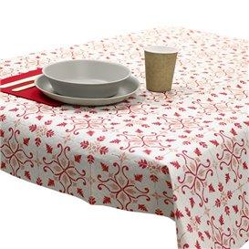 """Nappe en papier 1x1m """"La Valenciana"""" Bordeaux 40g/m² (400 Utés)"""