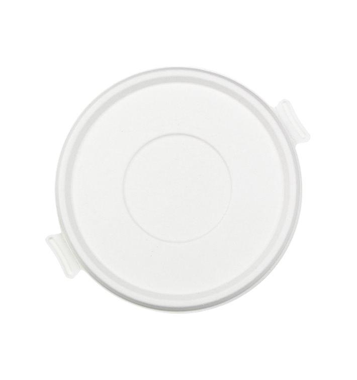 Couvercle Canne à Sucre Blanc pour Bol 710 et 1360ml (400 Utés)