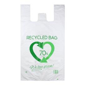 Sac à Bretelles 70% Recyclé 80x90cm 50µm (300 Utés)